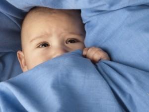Koortslip bij baby